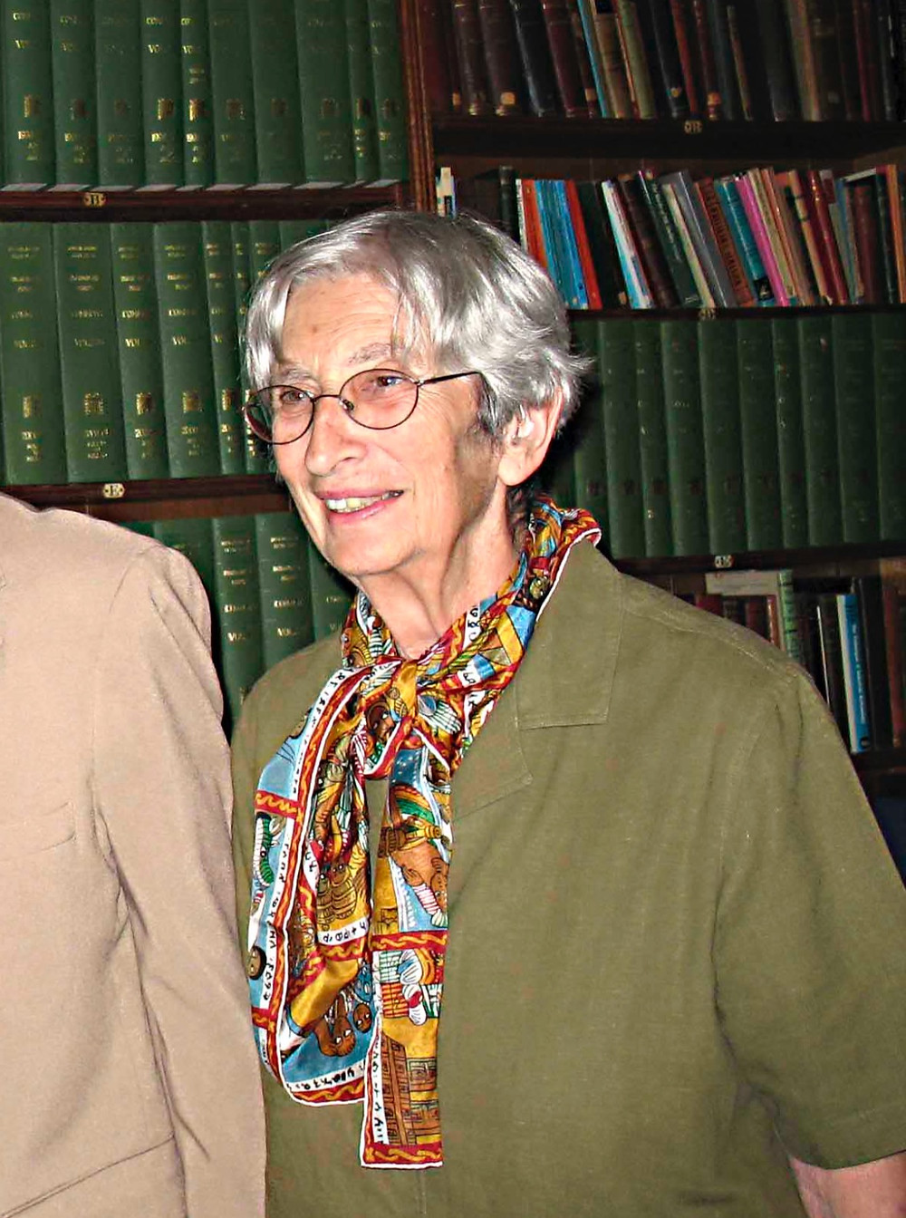 Rita Pankhurst at Wortley Hall in 2009