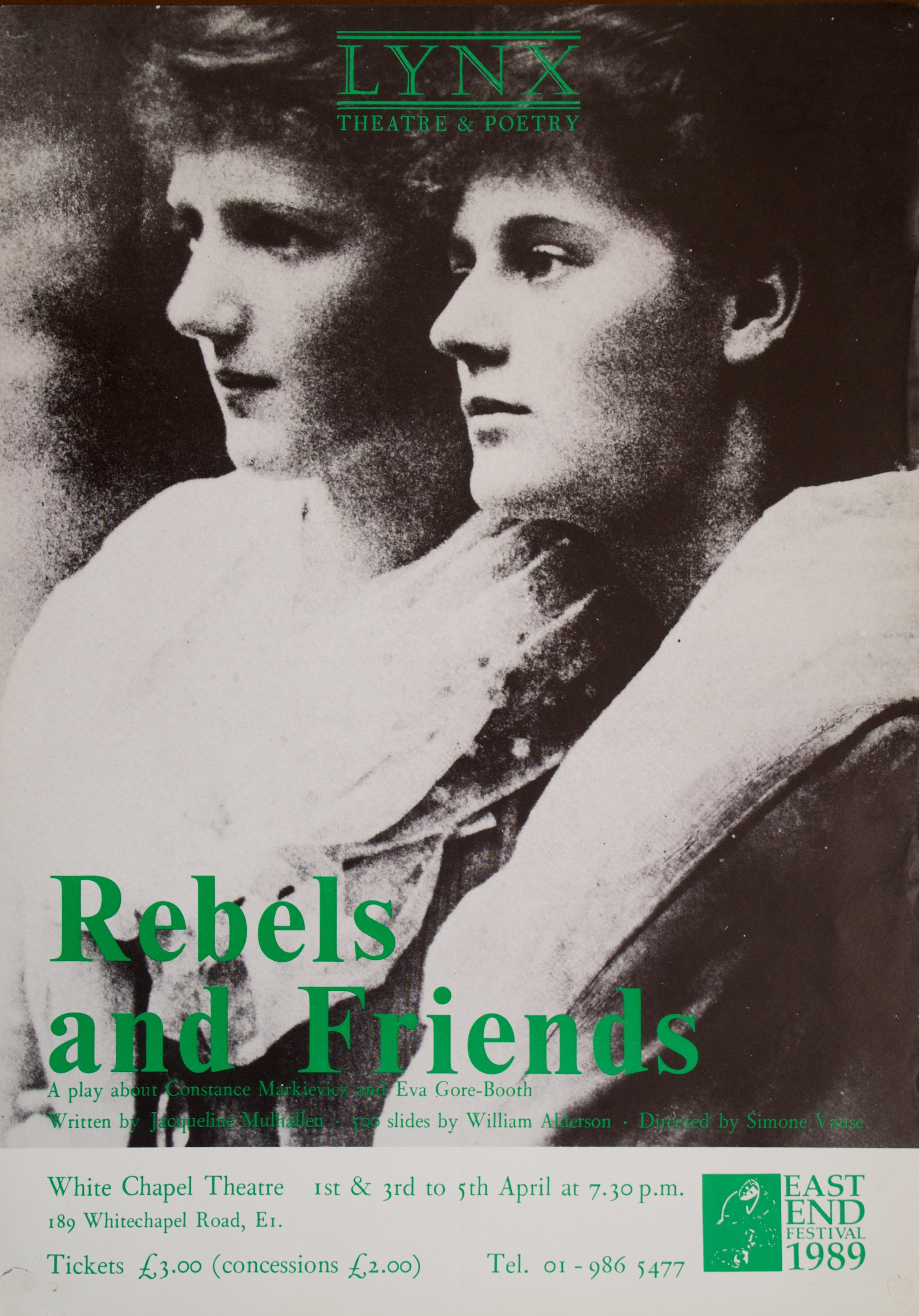 Rebels poster 1988