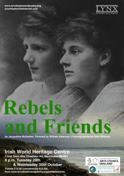 Rebels Poster A4 Manchester