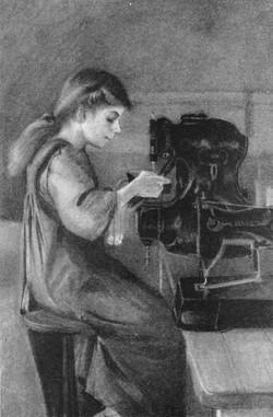Boot factory worker