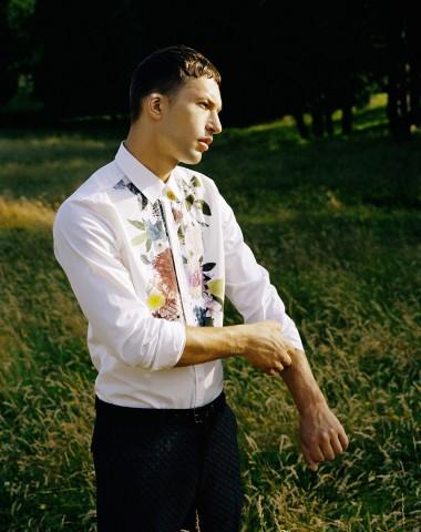 chemise fleurs Christian lacroix