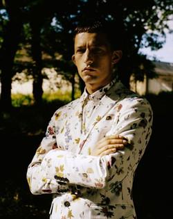 costume fleurs Christian Lacroix