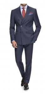 costume business bleu