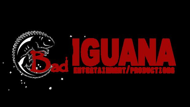 Bad iguana logo