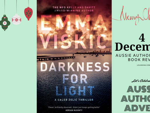 4th December - Emma Viskic - taking on the USA