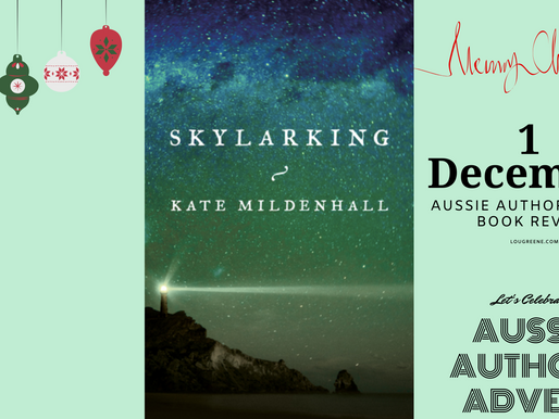 Aussie Author Advent - 1st December - First things first ...