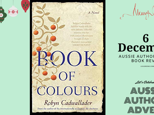 6th December - Aussie Authors Advent - Book of Colours by Robyn Cadwallader