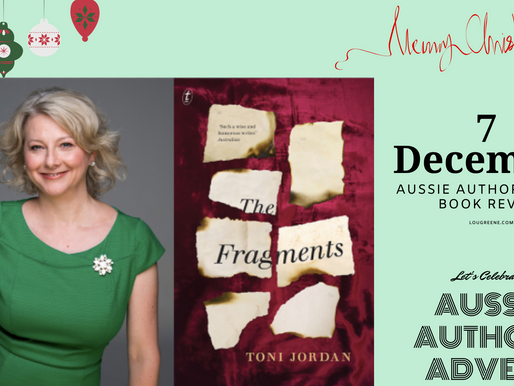 8th December - Aussie Authors Advent - The Fragments by Toni Jordan