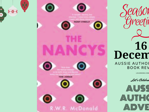 16th December - Aussie Authors Advent - The Nancys by R.W.R. McDonald