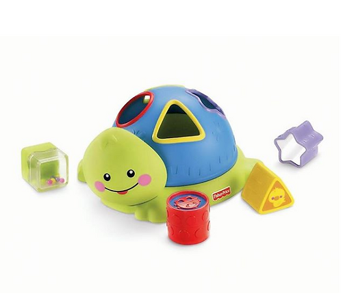 Fisher-Price Friendly Firsts Turtle Shape Sorter