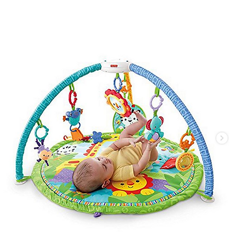 Fisher-Price®️ Rainforest Friends Musical Gym