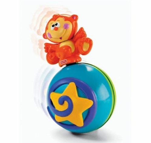 Fisher-Price M4045 Crawl Along Musical Ball Baby Toys