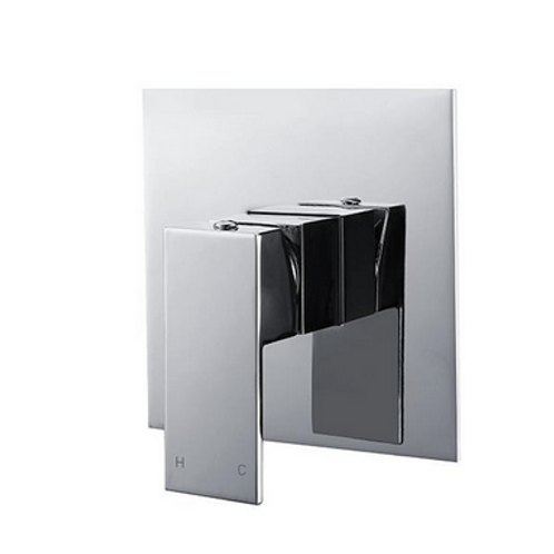 CHROME SQUARE SHOWER/BATH MIXER