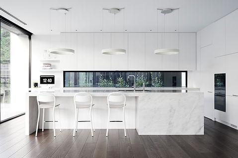 white kitchen melbourne