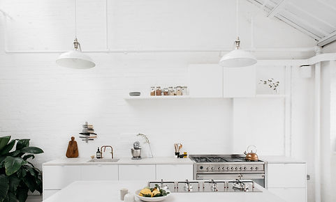 white kitchen renovation melbourne