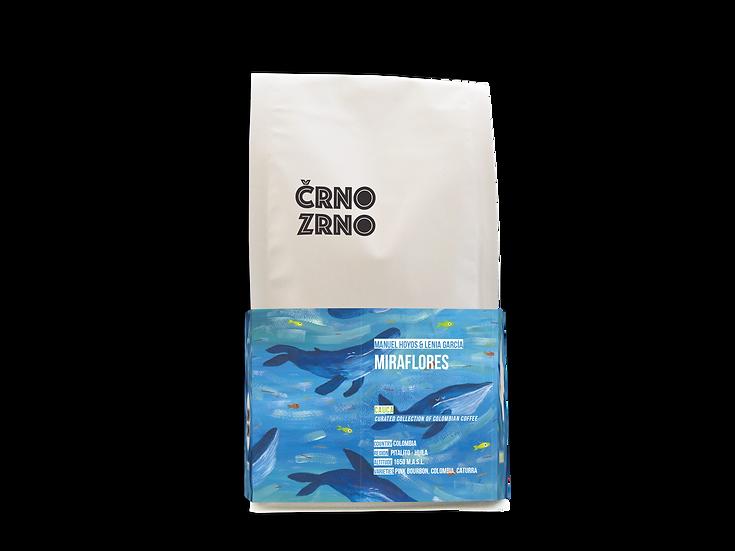 Miraflores 250g, Kava v Zrnju