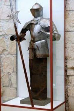Statue at Limassol's Medieval Castle