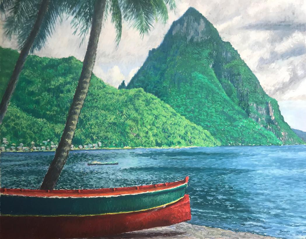 Saint Lucia Piton