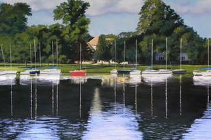 Peaceful Harbor 16 x 20