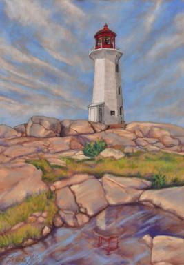 Peggy's Cove Lighthouse Brenda Mills