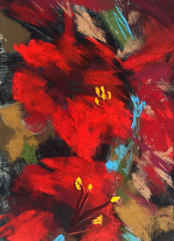 Amaryllis Abstract