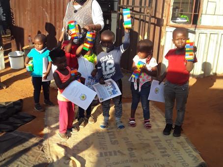 Six Bricks Handover: From ECD centres to Parents/Caregivers