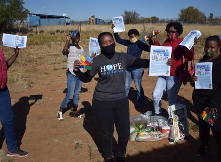 Six Bricks in Bloemfontein
