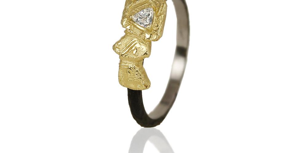 Trigon Bar Ring