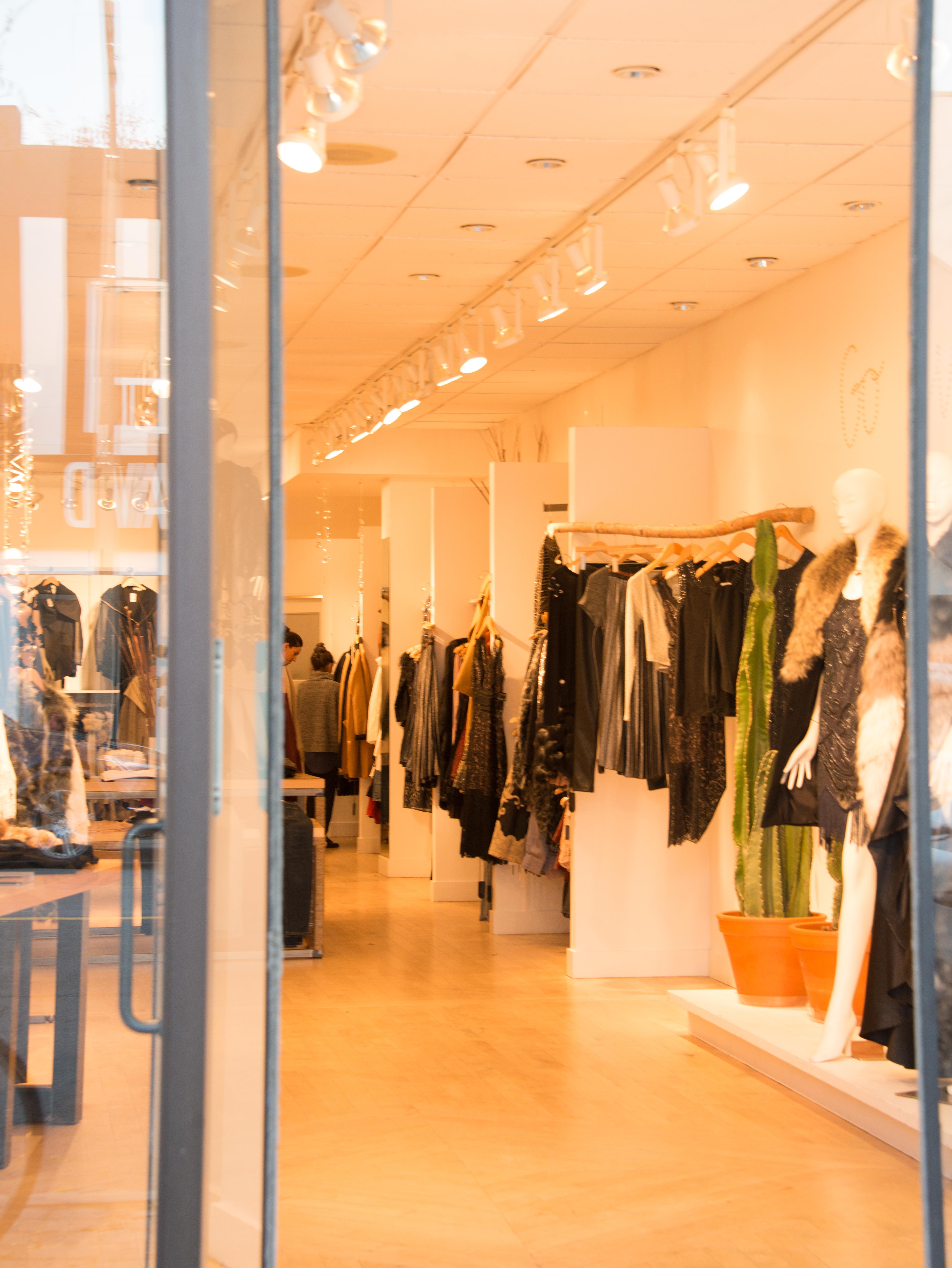 Shopping on Yonge Street