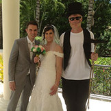 Traditional Chimney Sweep attending a wedding