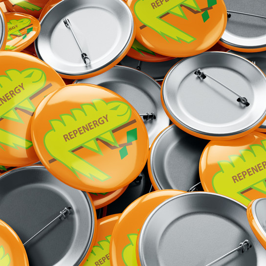 REPENERGY buttons