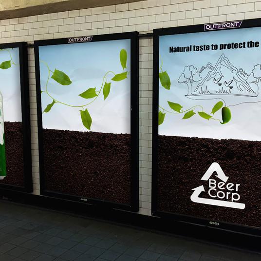 Energy IPA Subway Ad