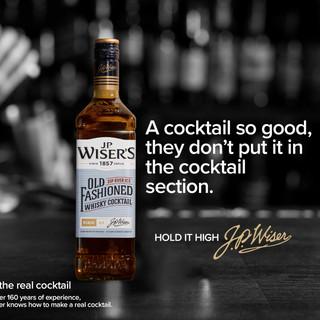 J.P. Wiser's advertise