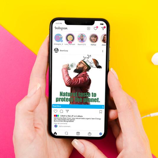 Energy IPA social media ad