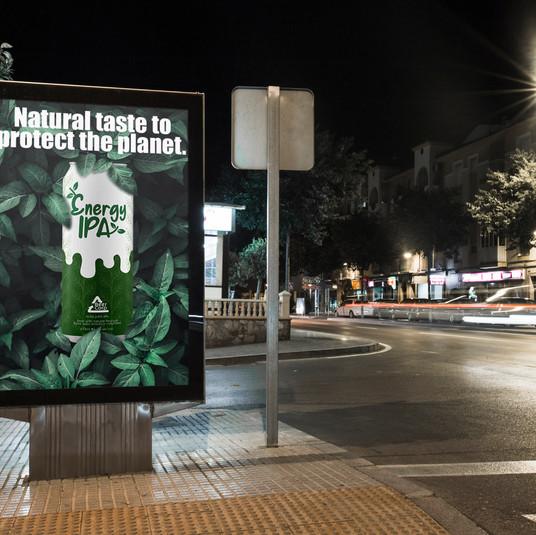 Energy IPA billboard