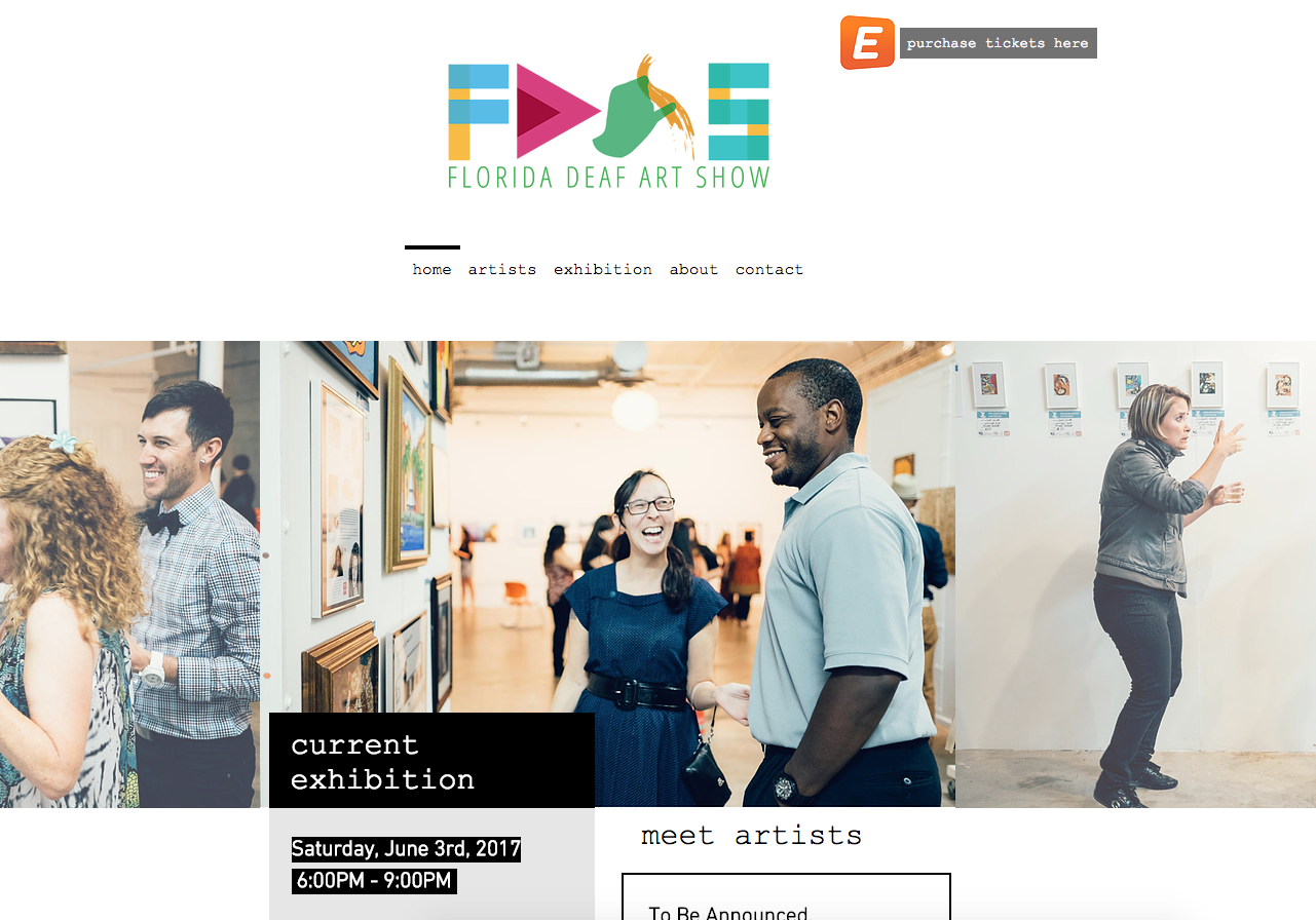 Florida Deaf Art Show