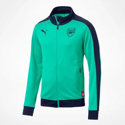 Men's Arsenal PUMA Green Track Jacket 18/19
