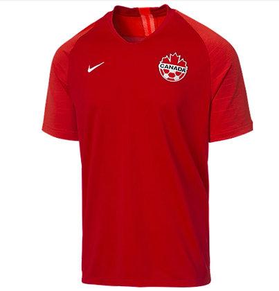 Men's Team Canada Soccer Nike Home Jersey 2019