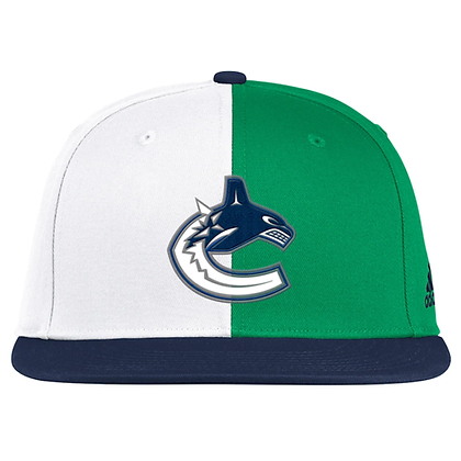 Men's Vancouver Canucks Adidas 2020/21 Reverse Retro Snapback Adjustable Hat