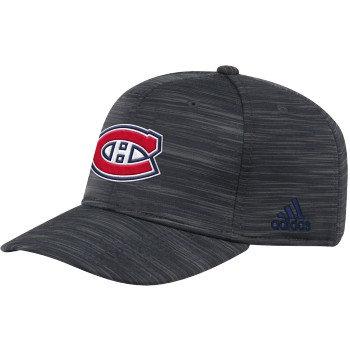 Men's Montreal Canadiens Official adidas Dark Navy Structured Flex Fit hat