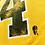 Thumbnail: Men's Boston Bruins Bobby Orr #4 OTH Yellow T-shirt