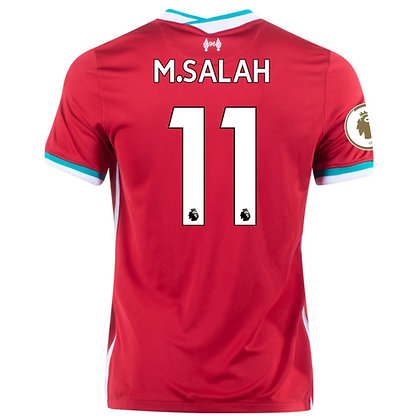 Men's Liverpool M. Salah Home Nike jersey 2020/21