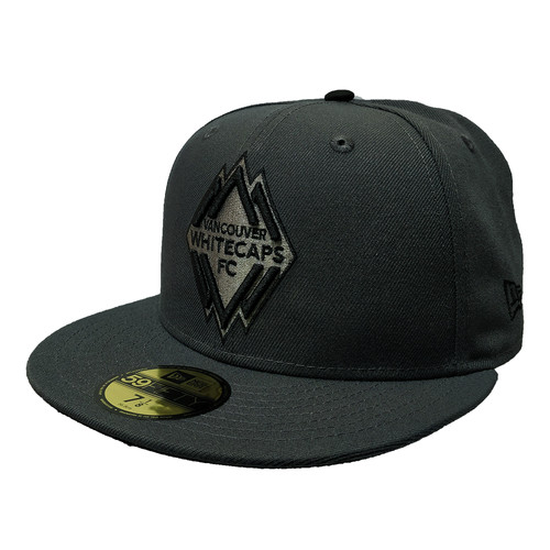 official photos 956e9 38267 Men s Vancouver Whitecaps New Era Grey on Grey 59FIFTY Fitted Hat