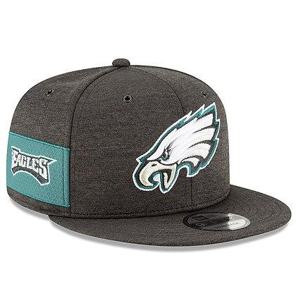 Men's Philadelphia Eagles New Era Black 2018 NFL Sideline Alternate 9FIFTY