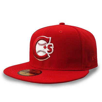 Men's Vancouver Canadians New Era Team Logo Red 59FIFTY Hat