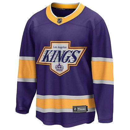 Men's LA Kings Fanatics Reverse Retro REPLICA Breakaway Purple Jersey