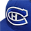 Thumbnail: Montreal Canadiens Custom White on Blue 59fifty fitted hat
