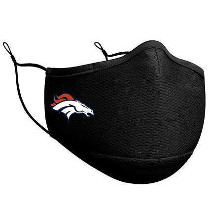 Adult Denver Broncos New Era Black On-Field Face Mask
