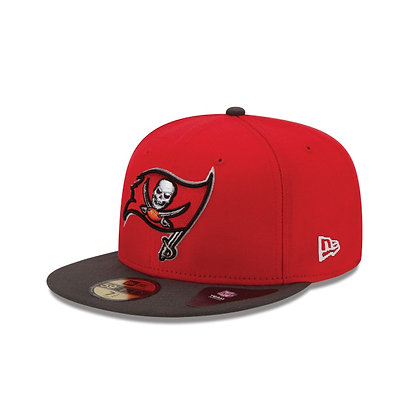 Men's Tampa Bay Buccaneers On-Field New Era Red / Pewter Grey 59FIFTY Fitted Hat
