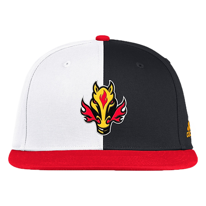 Men's Calgary Flames Adidas 2020/21 Reverse Retro Snapback Adjustable Hat
